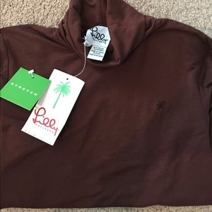 Brown LILLY turtleneck- New - Small