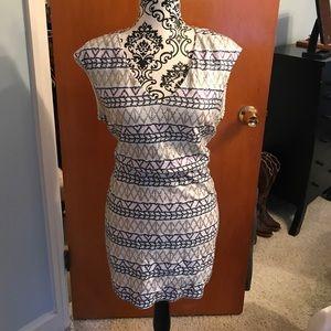 DV Dolce Vita Sequin Open Back Dress