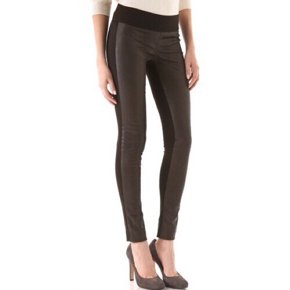 3b9027f7891df1 Club Monaco Pants | Faux Leather Tasha Leggings | Poshmark