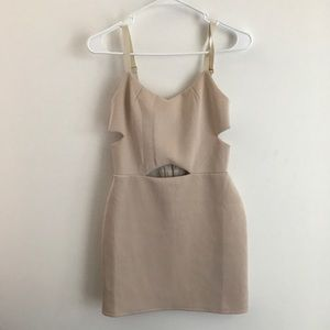 Dresses & Skirts - BLACK FRIDAY SALE! Little Nude Dress Cut out
