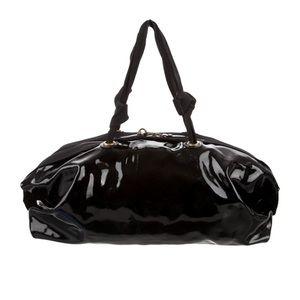 LANVIN patent leather Bowling bag. Authentic 🖤