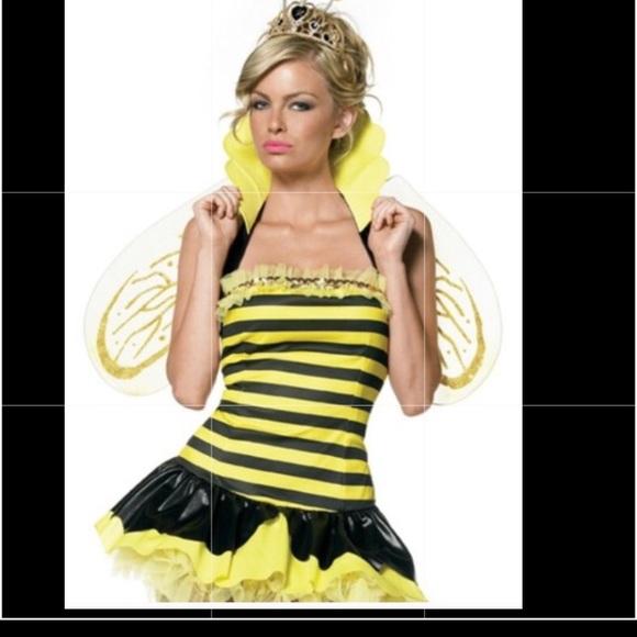 queen bee halloween costume