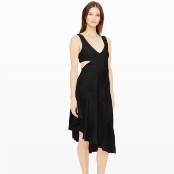 Club Monaco Dresses Trina Silk Dress Poshmark