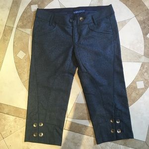 Miss sixty Capri pants made in Italy.