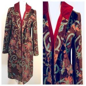 Beautiful Vintage Anthro Boho Tapestry Jacket