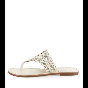 85dc80a7999 Tory Burch Shoes - ❤️Tory Burch Roselle Laser Cut Thong Sandals❤️