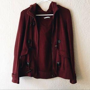 Burgundy Light Weight Jacket