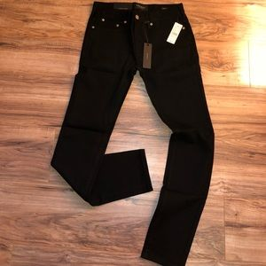 Other - Black denim skinny jeans NWT