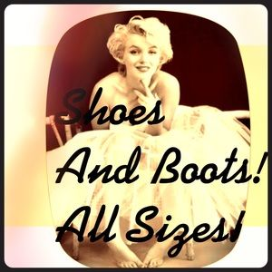 Shoes and Boots! All Sizes!