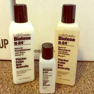 Accessories - Biotene shampoo,conditioner & scalp massage drops