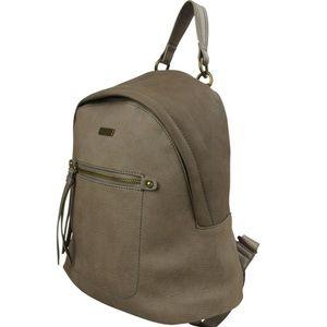 Handbags - NWT Taupe mini Backpack