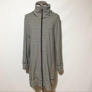 Soma Live Lounge Wear Striped Jacket