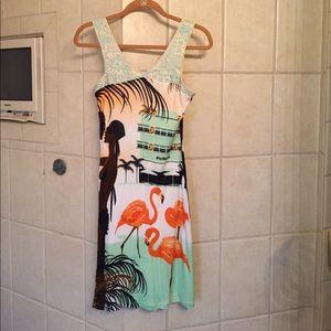 Custo Barcelona cotton mini dress size 1