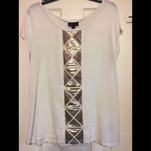 🎊Worthington sequin 🎊 dressy top size Large
