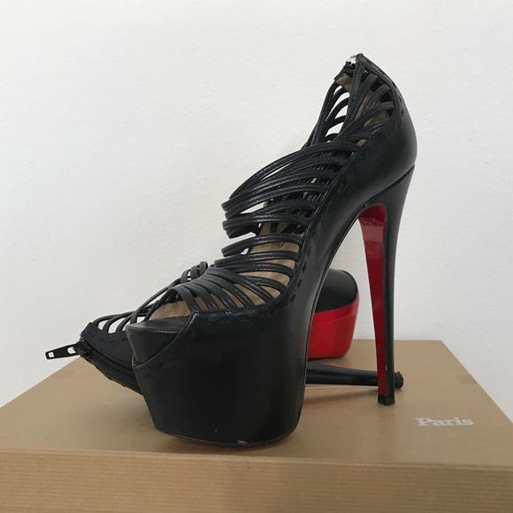 612208650bb Christian Louboutin Zoulou Platform heels