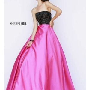 Sherri Hill ballgown