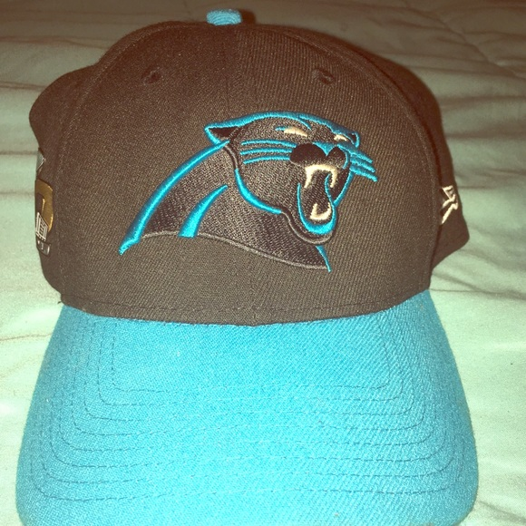 Carolina Panthers SUPER BOWL 50 Hat. M 59f7ba199c6fcf7abe0ca082 79ba801af