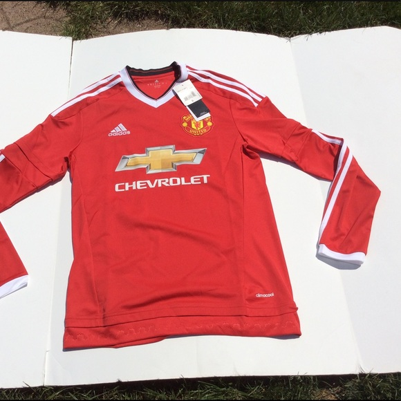 adidas Shirts | Manchester Chevrolet Soccer Jersey | Poshmark