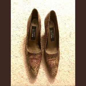 FAB Stuart Weitzman Fab Reptile Heels, 6.5