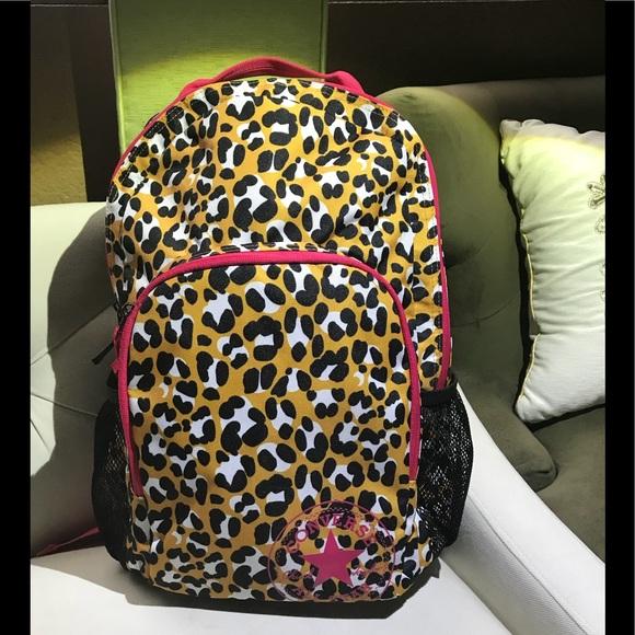 d62b1fdaf190 Converse Handbags - Converse All Star Animal print backpack 🎒