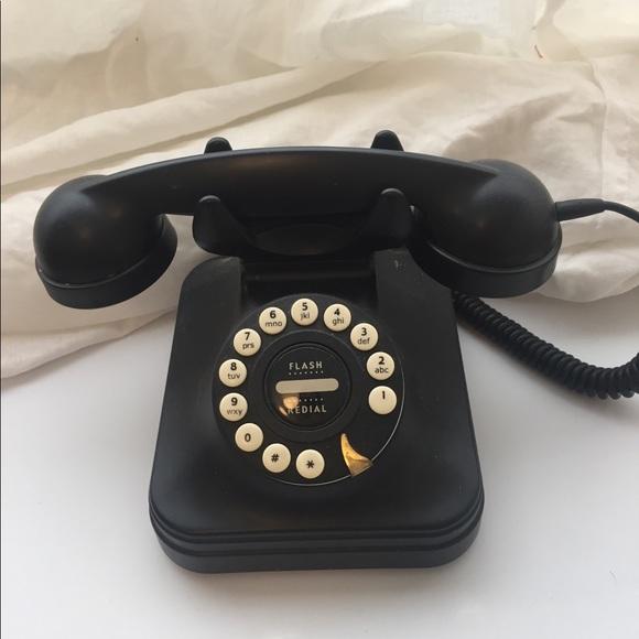 Pottery Barn Other Nwot Black Phone Poshmark,Anime Black And White Wallpaper Phone
