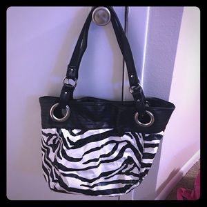 Handbags - Zebra-themed purse