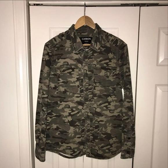 9605b111f6772 Rue21 Shirts | Rue 21 Camouflage Button Down Shirt | Poshmark
