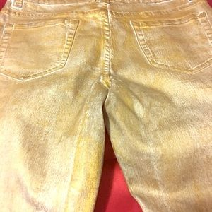 Denim - Beautiful gold colored jeans