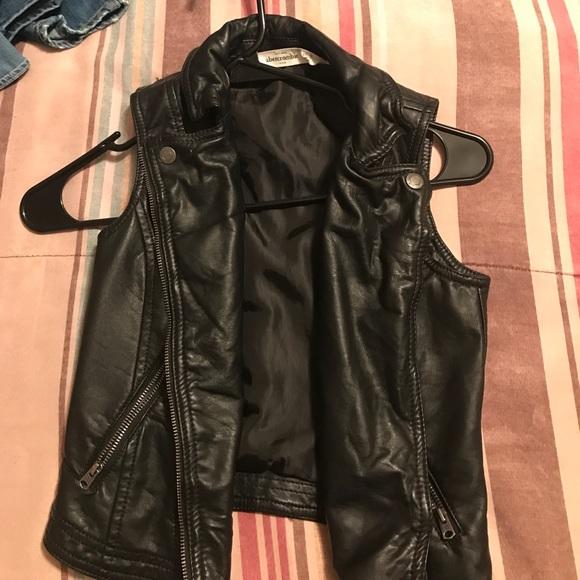 Abercombie Kids Jackets Coats Kids Leather Motorcycle Vest
