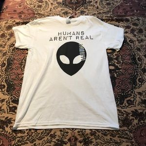 Other - Humans aren't real tee size M never worn