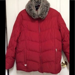 Down Cold Weather Coat