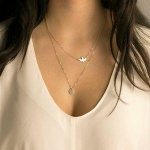 2/$25 ☆ Dove Double ☆ Necklace