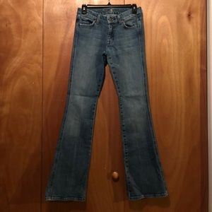 7 for all man kind boot cut jeans