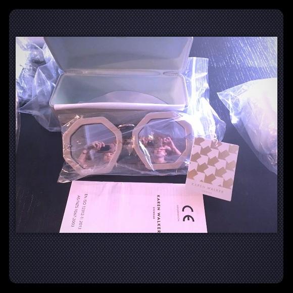 b341a053c95 Karen Walker Accessories | Moon Disco Sunglasses Mirror Silver ...