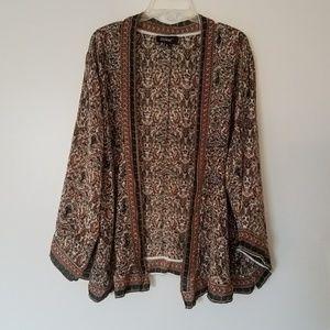 Vintage 70s Silk Kimono Jacket