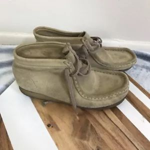Clarks original wallabee leather shoes 6