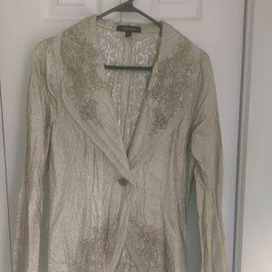 Karen Kane Shimmer Jacket!