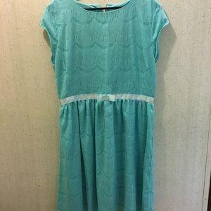NEW LISTING Shabby Apple 1X light blue dress