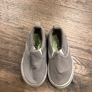 Circo Gray Slip On Shoes