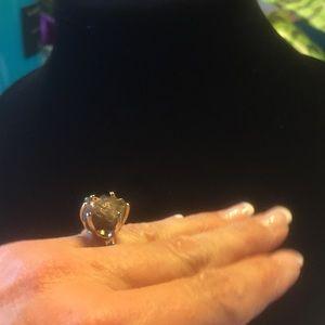 Jewelry - NWT PURPLE GRAY DRUSEY STYLE PRONGED ROCK RING