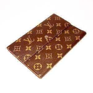 Authentic Vintage Vuitton Passport Pochette