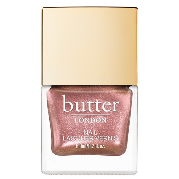 New Butter London Rose Gold Nail Polish 8 Free Nwt