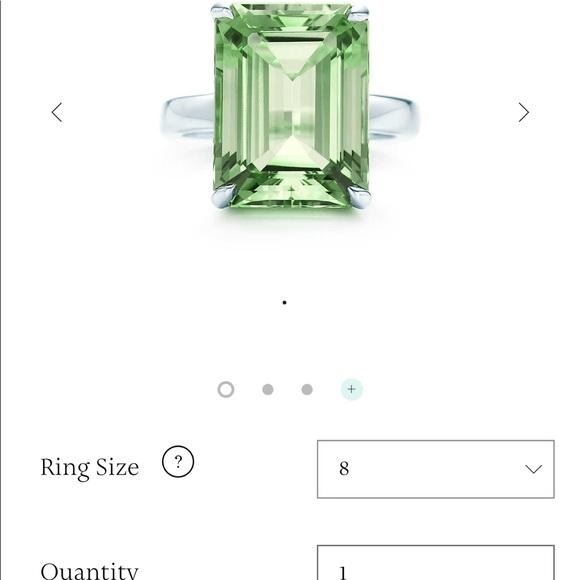 2c9c85199 Tiffany Sparklers Green Quartz Cocktail Ring. M_59f7e894bcd4a781a50dd2c3
