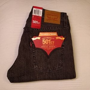 Levi's 501 Customized And Tapered Skinny Jeans