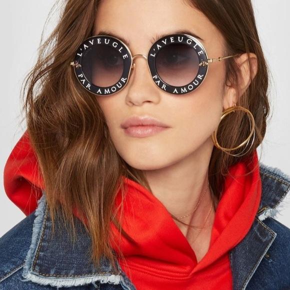 71a3a6a679b Gucci Accessories - Auth Gucci 0113S L Aveugle Par Amour Sunglasses