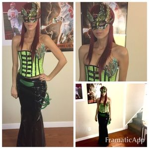 Full custom Poison Ivy costume handmade