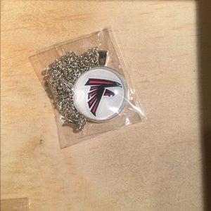 Jewelry - NFL Atlanta Falcons dome necklace!