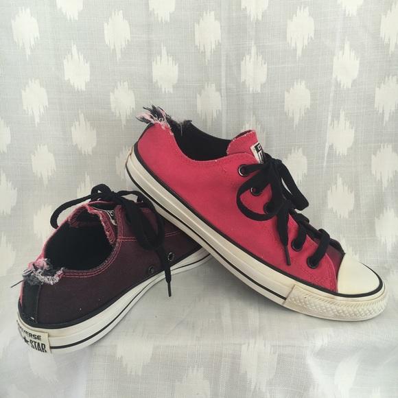8ace5826323477 Converse Shoes - Converse All Stars Pink Purple Women s SZ 9