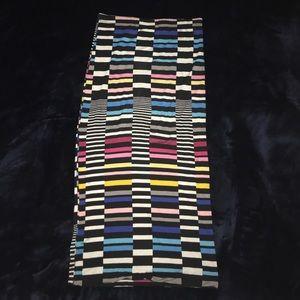 Multi Colored Midi Skirt