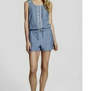 Kensie Jeans Blue Romper. Small